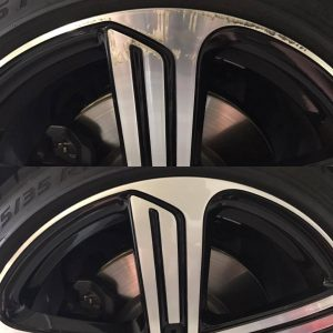 Machine Face Alloy Mag Rim Repair Sydney image by Platinum Wheel Repairs